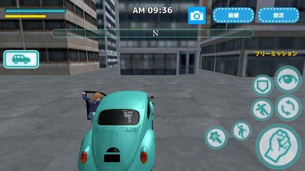 車に乗り込む女子高生
