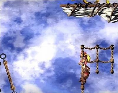 スーパードンキーコング2のゲーム画面