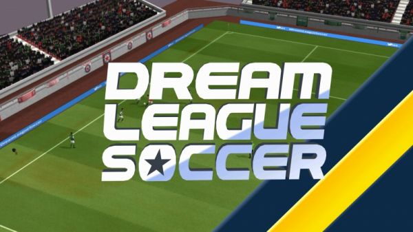 dreamleaguesoccerのロゴ