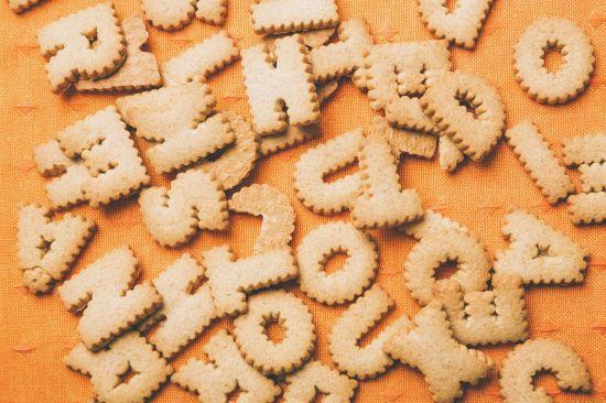 英単語のクッキー