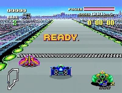 F-ZEROのレース開始画面