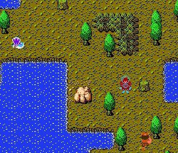未来神話ジャーヴァスのゲーム画面
