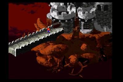 スーパーマリオRPGのゲーム画面