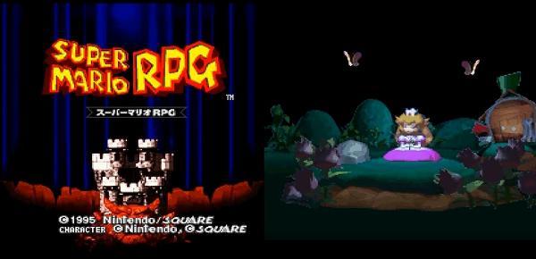 スーパーマリオRPGのタイトルと画像