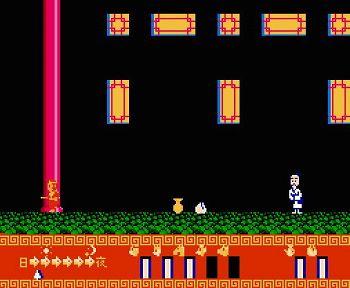 元祖西遊記スーパーモンキー大冒険のゲーム画像