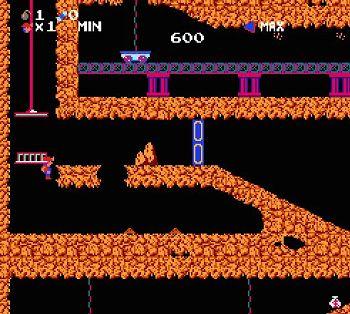 スペランカーのゲーム画像
