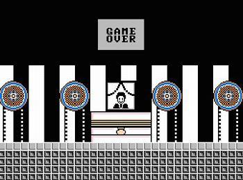 たけしの挑戦状のゲームオーバー