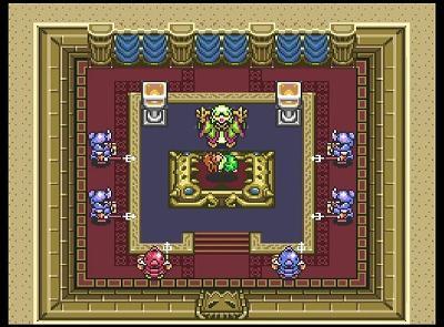 ゼルダの伝説 神々のトライフォースの敵とゼルダ姫