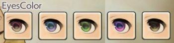 女性ドワーフの目色