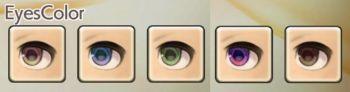 男性ドワーフの目色