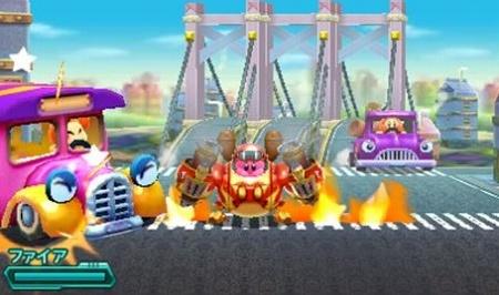 星のカービィ ロボボプラネットのゲーム画面