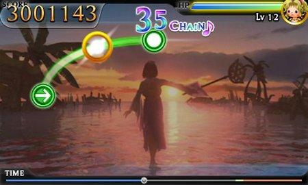 シアトリズム ファイナルファンタジーのゲーム画像