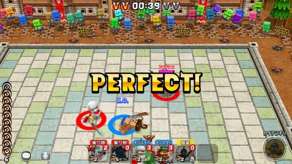 ガンビットの戦争ゲーム画面