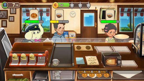 デザートチェーン・ウェイトレスカフェのゲーム画像