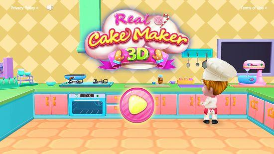 リアルケーキメーカー3Dのタイトル