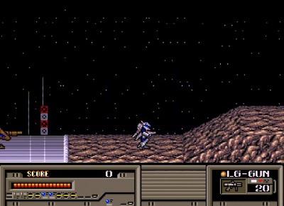 重装機兵レイノスのステージ画面