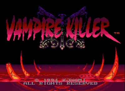 VAMPIRE KILLERのタイトル