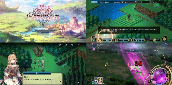 RPGゲームアプリ・エバーテイルのゲーム画面