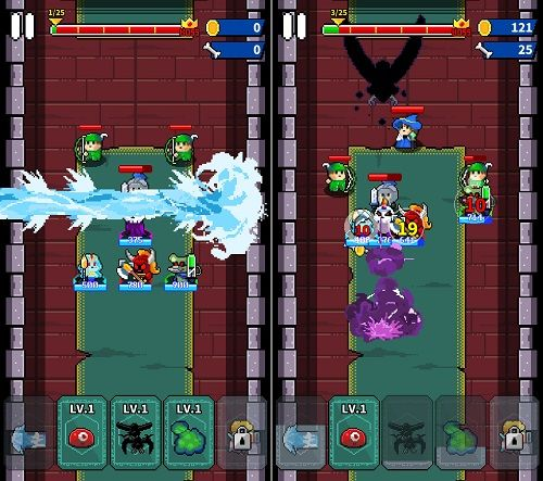 Evil vs Knightのステージ
