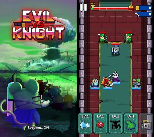 Evil vs Knightのタイトル