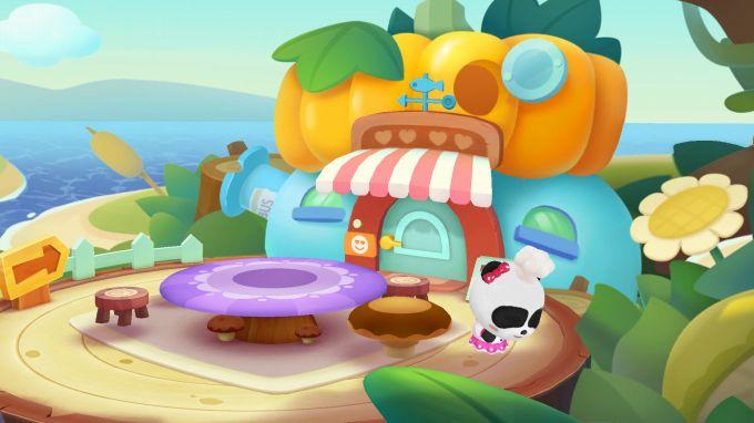パンダのケーキ屋さんごっこのスクリーンショット
