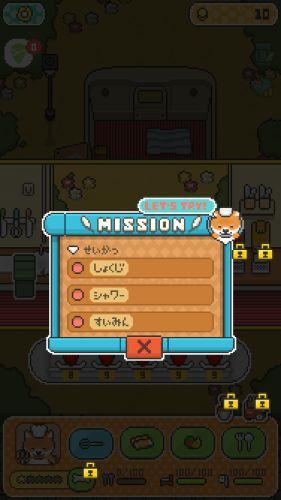 柴犬の生活に関するミッション