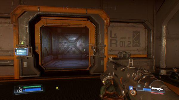 DOOMのゲーム画面