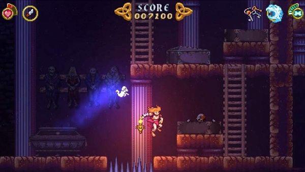 バトルプリンセス マデリーンのゲーム画面