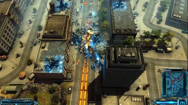 X-Morph: Defenseのステージ画像
