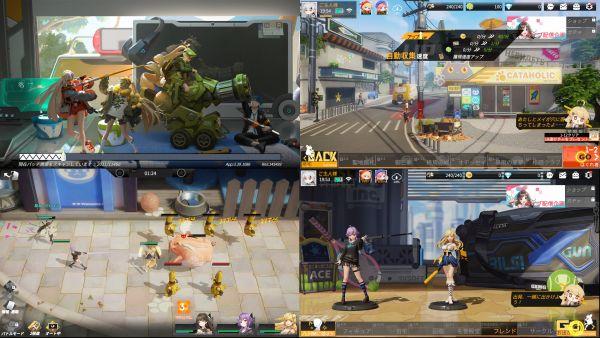 フィギュアストーリーの放置ゲーム画像